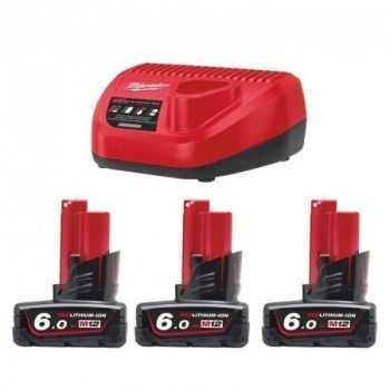 Foto - Kit Energia Milwaukee M12 NRG-603