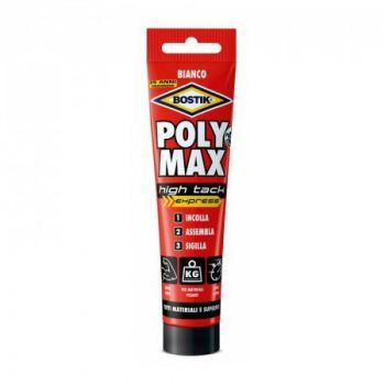 Foto - Bostik Colla POLY MAX HIGH TACK EXPRESS BIANCO - 165 g