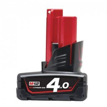 Foto - Batteria 4.0 AH Milwaukee M12 B4